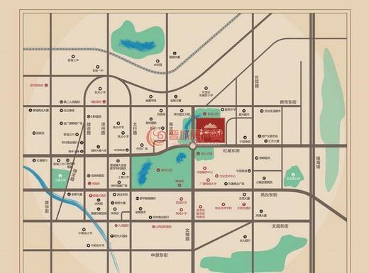 金城山水交通图