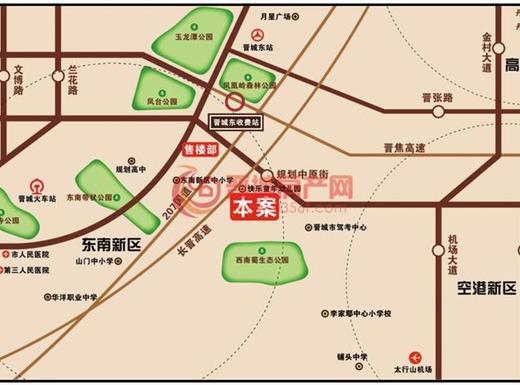 丰欣湾交通图