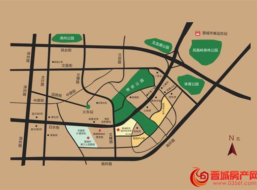 皇城新区交通图
