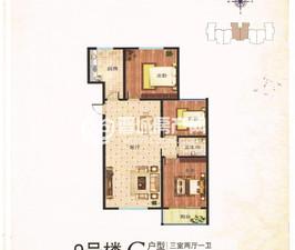 万博manbetx官网登录花园9#楼C户型