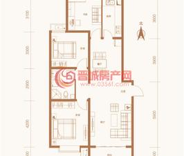 紫东国际5#楼C户型