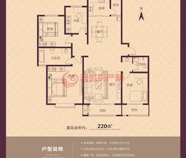 紫东国际7#楼1户型