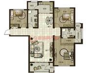 鼎秀華城二期三室兩廳兩衛建筑面積約139.97平米和138.07平米戶型