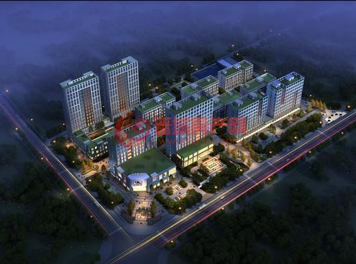 中国青年城效果图