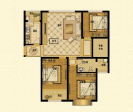 星湖湾B—3住宅5#—户型