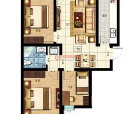 印象怡园5#楼C户型