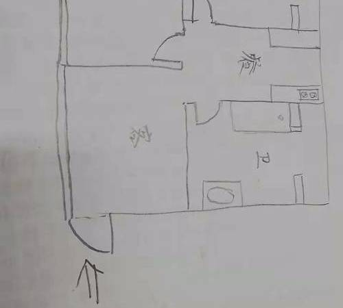 黄河大厦2室2厅1卫100平米52万住宅出售