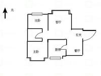 潞泽苑 低层毛坯 两室?#25945;?户型方正 采光合理