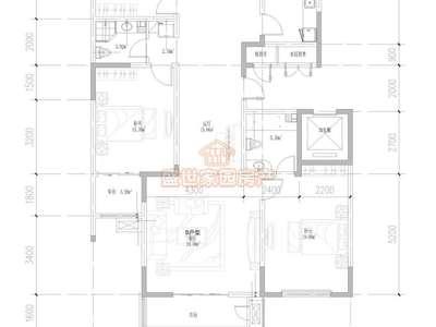 星河学区文昌西街 可一手贷款 好楼层3室2卫大房123万出售