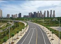 东南新区多条道路已完工或通车,区域发展进一步升级
