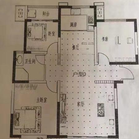 文景苑3室2厅1卫126平米房屋出售