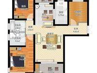 龍度華府三室兩廳兩衛129平米住宅出售