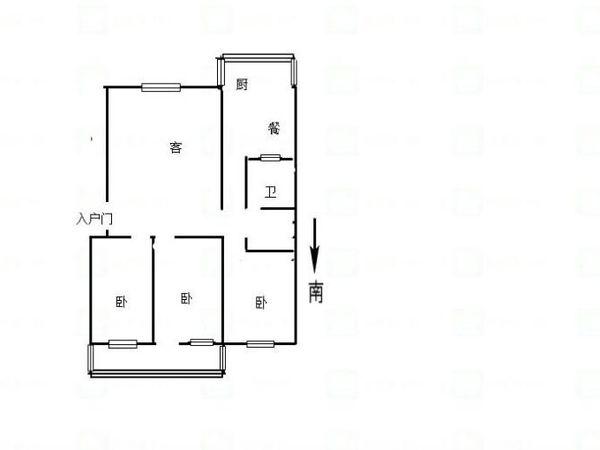 文昌街房产小区 大红本满五年 可贷款 带地下室 南北通透