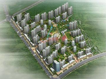 祥瑞新城項目鳥瞰圖