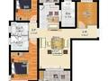 龙度华府 三室两厅两卫 130平米 结构合理 新房本可贷款