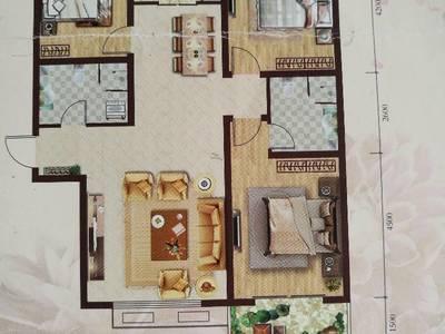 白水印象3室2厅2卫137.76平米住宅出售