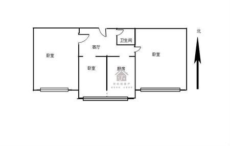 书院街古矿南区三室一厅一卫68平米住宅出售