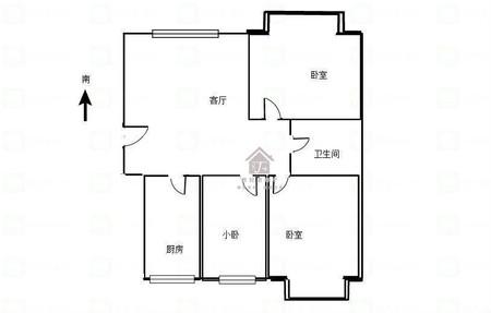 华厦星园A区三室两厅两卫130平米住宅出售