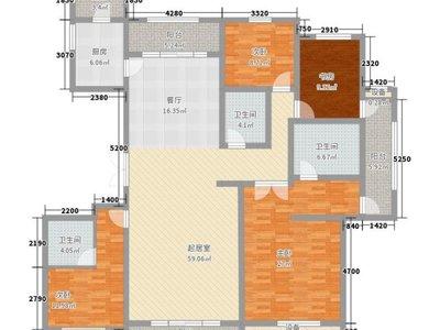 玉龙湾公馆四室两厅两卫188平米住宅出售