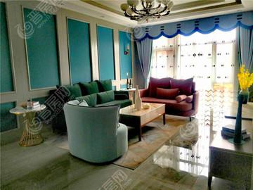 A1戶型2樣板間-客廳+陽臺