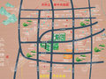 中原盛世城交通圖