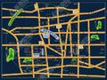 华悦郡府交通图