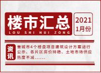 2021年1月份晋城楼市情况汇总