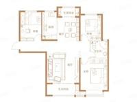 现房最好的户型 三室两厅全明户型 南北通透全款改名