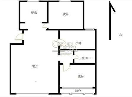 愛物上學 秀水苑139平米 精裝三居室 包過戶115萬