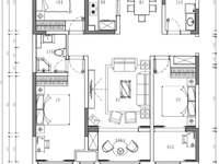 开发区颐博园 精装自己装修 明年交房 方块户型 无缺角